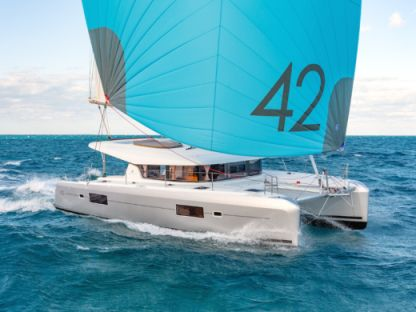 Location Catamaran Lagoon 42 Saint-Martin