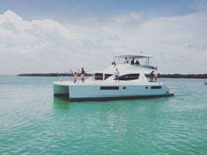 Location Catamaran Leopard 51 Miami