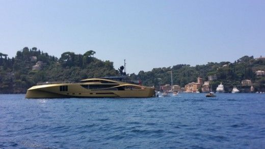 Rental motorboat in Rapallo
