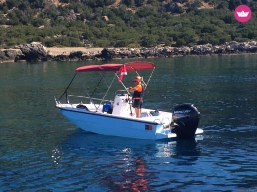 Mare 5.5M 80Hp in Hora Sfakion for hire