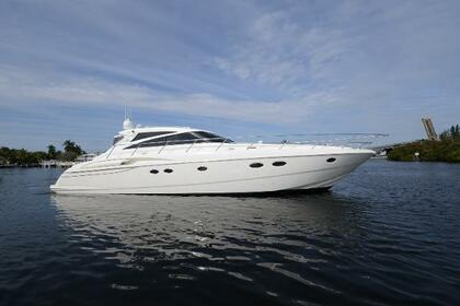 Rental Motorboat PRINCESS V58 Miami Beach