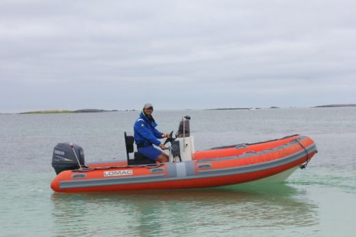 Charter rIB in Concarneau peer-to-peer