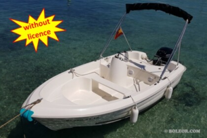 Rental Motorboat Quicksviler B410 'Tethys' without licence Ca'n Pastilla