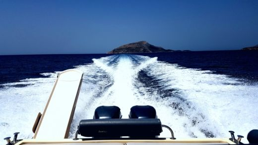 Charter motorboat in Athens