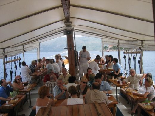 Charter houseboat in Dubrovnik