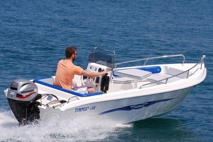 Hire Motorboat Thomas 4,5 Chania