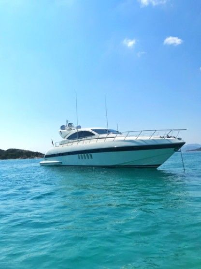 Rental Motorboat Mangusta Mangusta72 Portisco