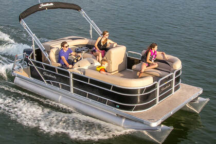 Rental Motorboat Bennington Pontoon 30 Austin