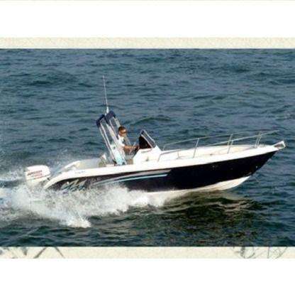Rental Motorboat Terminal Boat 21 Salerno