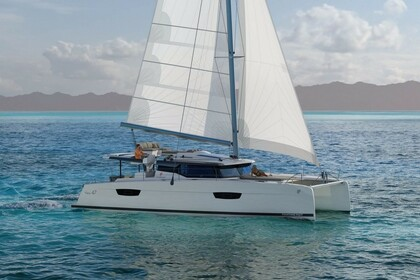Hire Catamaran Fountaine Pajot Saona 47 with watermaker & A/C - PLUS Šibenik