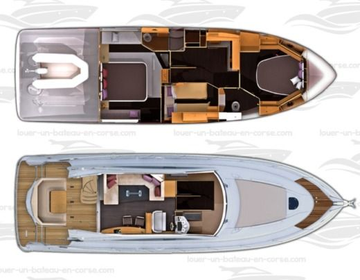 Motorboat BENETEAU Monté Carlo 47 FLY peer-to-peer