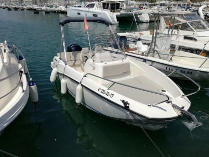 Charter Motorboat Quicksilver Open Active 555 El Garraf