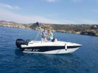 Motorboat Compass 150 Cc for hire