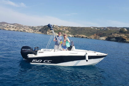 Charter Motorboat COMPASS 150 cc Heraklion