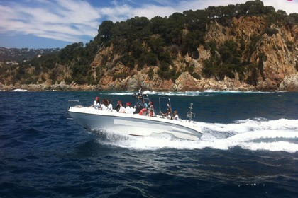 Rental Motorboat Quer 27 Lloret de Mar