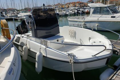 Rental Motorboat Beneteau Flyer 5.5 Spacedeck Les Sables-d'Olonne