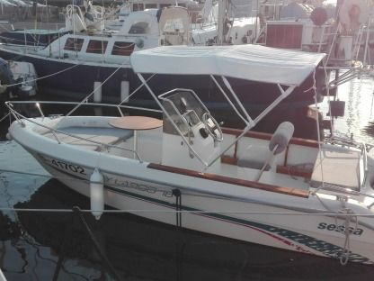Rental Motorboat Sessa Marine 18 Marseille