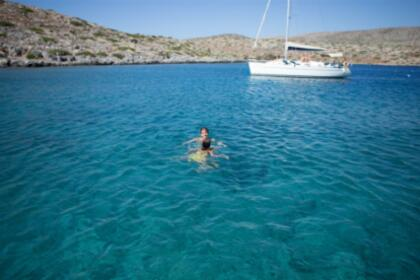 Rental Sailboat HALF DAY PRIVATE Trip to Dia Dufour 32 Heraklion