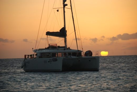 Charter catamaran in Sainte-Anne