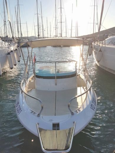 Primus Marine Fisher 17 Deck in Trogir for hire