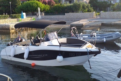 Rental Motorboat Oki Boats Barracuda 545 Rab
