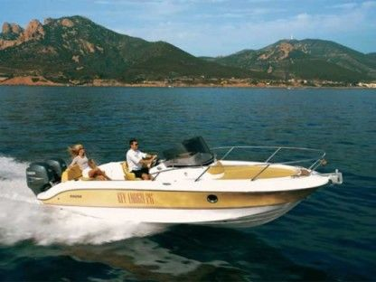 Rental Motorboat Sessa Marine Key Largo 26 Juan les Pins