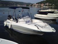 Quicksilver 555 Commander in Trogir for rental