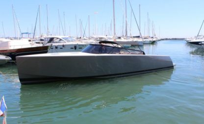 Rental Motorboat Van Dutch 40 Titanium Golfe Juan