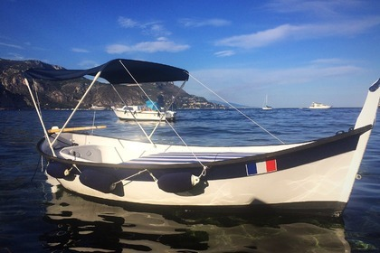 Hire Motorboat Pointu Typique Beaulieu-sur-Mer