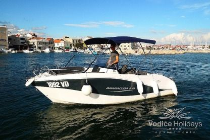 Miete Motorboot 2015 Okiboats Baraccuda 5,45 Vodice