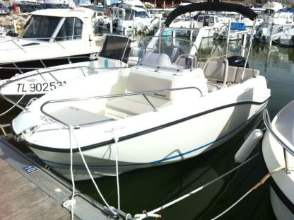 Rental Motorboat Quicksilver Activ 555 Carnon