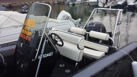 RIB Sillinger 580 Rib Um Vp for hire