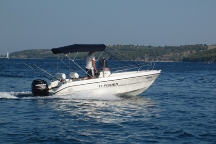 Hire Motorboat Fisher 17 Zaglav