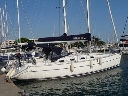 Location Voilier Poncin Yachts Harmony 38 Marseille