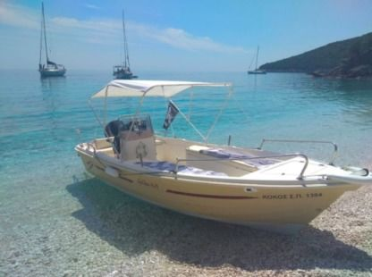 Charter Motorboat Golden Man 480 Kefalonia