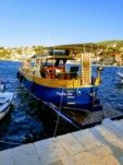 Motorboat Traitional Croatian Boat Leut Vagabundo for hire