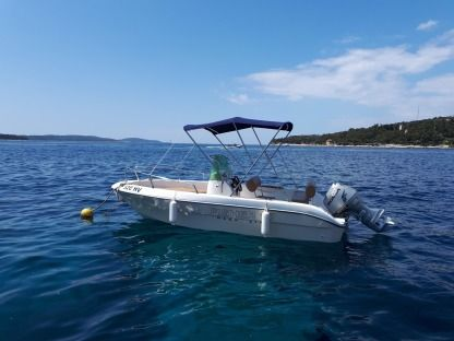 Miete Motorboot Fisher 17 Hvar