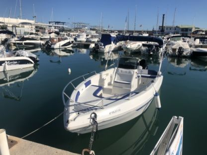 Rental Motorboat Aquamar 20 Benalmádena