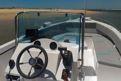 Rental Motorboat Obe FISHER 770 Faro