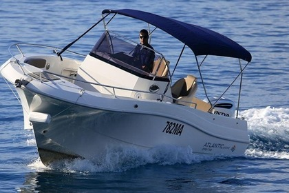 Hire Motorboat Atlantic Marine 7.5. Makarska