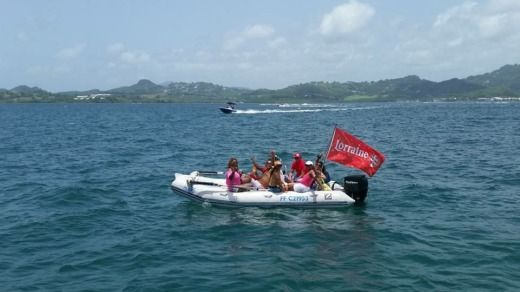 Zodiac Midline in Martinique peer-to-peer