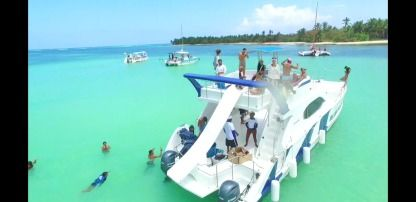 Charter Catamaran Power Catamaran Punta Cana