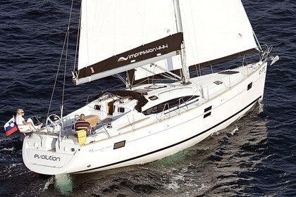 Hire Sailboat ELAN 444 IMPRESSION Laurium