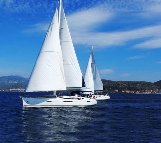 Jeanneau 53 in Rhodes for hire