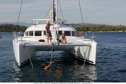 Location Catamaran LAGOON 380 Six-Fours-les-Plages