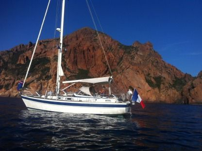 Rental Sailboat Hallberg  Rassy Hr 36' Porquerolles