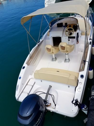 SESSA MARINE Key Largo 20 in Trogir peer-to-peer