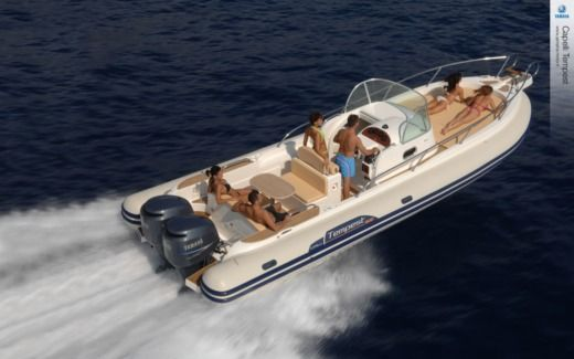 RIB CAPELLI Tempest 900 Wa peer-to-peer