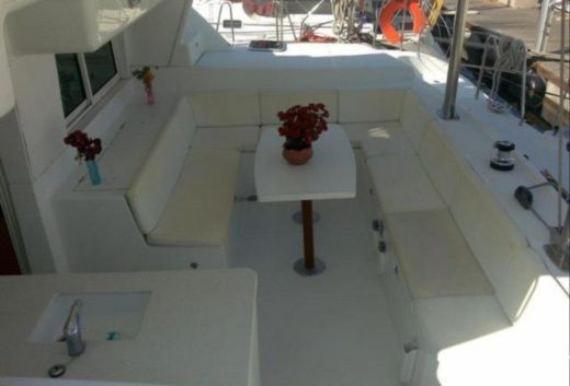 Charter catamaran in Athens