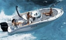 Motorboat Brava Mingolla 22 for hire